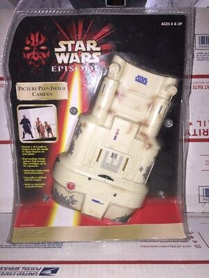 Star Wars Episode 1 Picture Plus Image Camera 1991 Tiger Electronics
