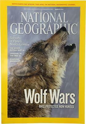 PRE-OWNED National Geographic March 2010 Geo Magazine CK309