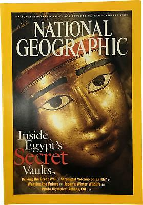 PRE-OWNED National Geographic January 2003 Geo Magazine CK309