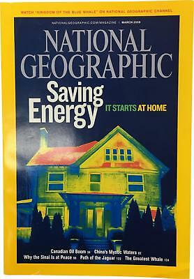 PRE-OWNED National Geographic March 2009 Geo Magazine CK309