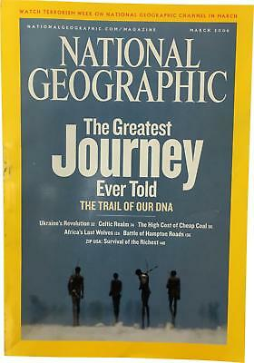 PRE-OWNED National Geographic March 2006 Geo Magazine CK309