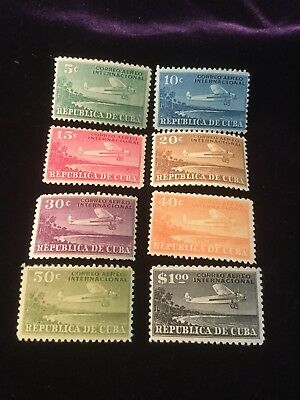 Scott #C4-11 Caribbean Air Mail Set Mint!