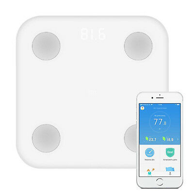Xiaomi Original Mi Scale 2 Bascula Inteligente Bluetooth 4.0 Digital Blanca