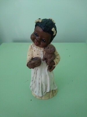 "God Is Love Figurine ""Becky"" 1991 By M. Holcomb!"