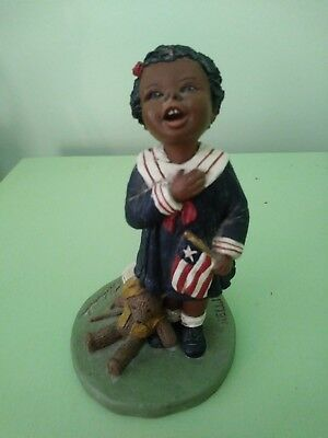 "God Is Love Figurine ""Nellie"" 1991 By M. Holcomb!"