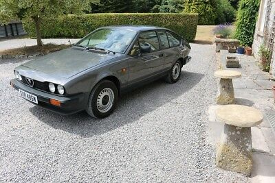 SUPERB,HIGHLY ORIGINAL,1981 ALFA ROMEO GTV,Just 30k miles,lhd from Como,Italy.