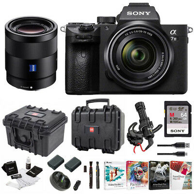 Sony α7 III Full Frame Mirrorless Camera with 28-70mm and FE 55mm F1.8 Lens Kit