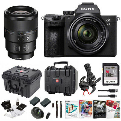 Sony α7 III Full Frame Mirrorless Camera with 28-70mm and 90mm Macro Lens Kit