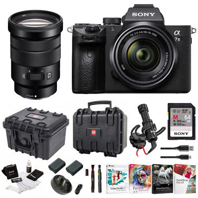 Sony α7 III Full Frame Mirrorless Camera with 28-70mm and 18-105mm f/4 Lens Kit