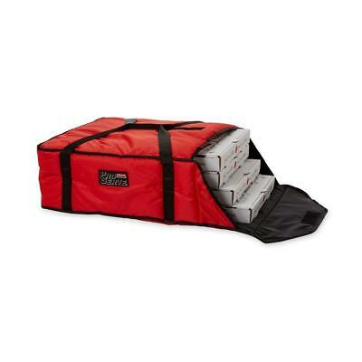 """Pizza Delivery Bag Rubbermaid Red Professional Insulated - Holds 4 Pizzas 18"""""""