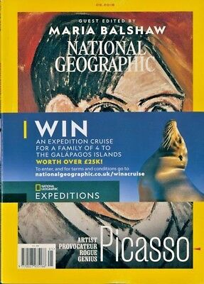 National Geographic Magazine May 2018 ~ Guest Edited By Maria Balshaw ~ New ~