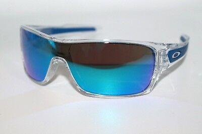 3cc41f704b Oakley Turbine Rotor Sunglasses OO9307-10 Polished Clear W  Sapphire Iridium