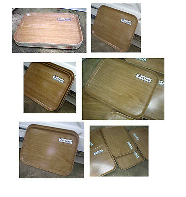 Six Vintage Two Guys Department Store Cafeteria Trays-Silite-Two Guys Logo