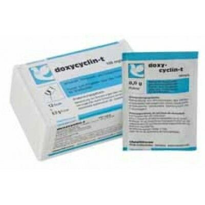 Pigeon Product - Doxycyclin-T Box 100 Capsules by Chevita