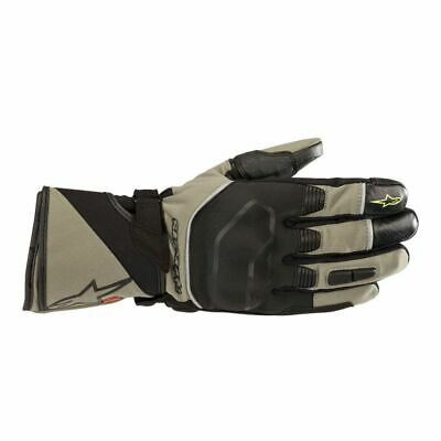 Alpinestars Andes Touring Outdry Gloves Military Green/Black Size S
