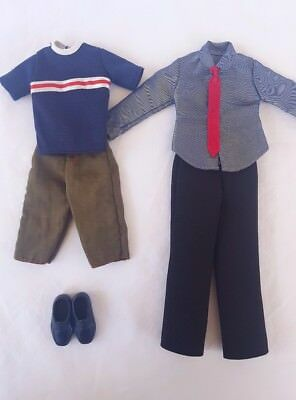 Barbie Vintage Ken Doll Outfits and Shoes