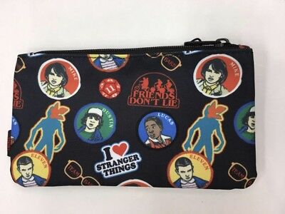 Loungefly Stranger Things Pencil Case/Makeup Pouch