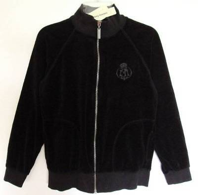 Juicy Couture Boys/Girls Black Velour Jacket (6) NWT
