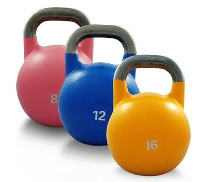 NEW Competition Kettlebell 8KG - 20KG Fitness Gym Strength Training Equipment
