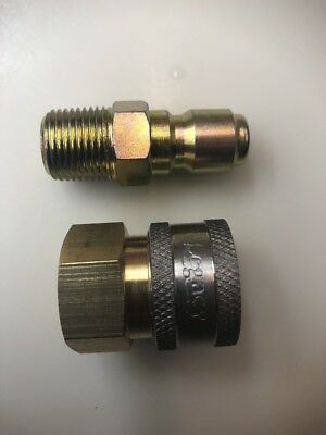 """3/8"""" Quick Coupler Fittings for Pressure Washer Fittings Top Quality"""