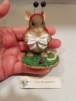Fitz & Floyd Charming Tails Your My Inspiration  Figurine