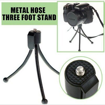 Portable Metal Tripods Mobile Phone Camera Fixed Stand Holder Flexible Rack WS