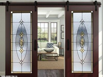 Stained glass  Doors   Barn  Or Pocket  style