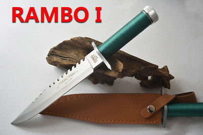 Rambo First Blood Sharp Stainless Steel Fighter Knife Hunting Knife with Cover