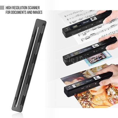 Portable Handheld Wireless Scanner Handy Documents Book A4 Images Scan 900 DPI