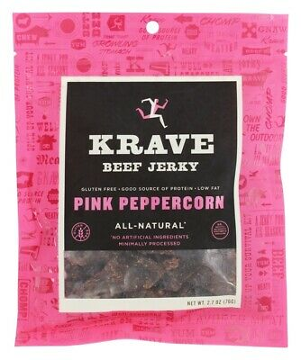 Krave Jerky - All Natural Beef Jerky Garlic Chili Pepper