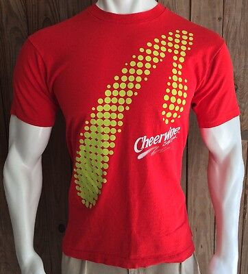 Cheerwine Men's Large Tshirt Vintage 90's Red Birthday Bash 75th Soft Drink