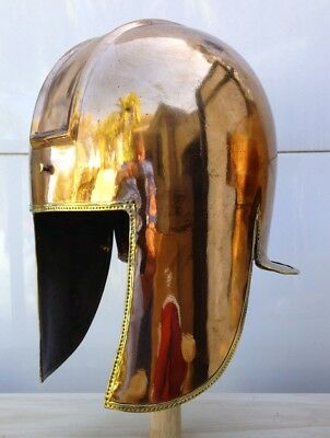 Ancient Greek Illyrian Bronze Hoplite Helmet Replica Armour
