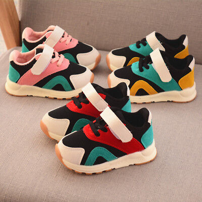New Baby Casual Shoes Toddler Kids Boys Girls Breathable Sports Shoes for Autumn