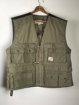 Rukka Expedition Clothing Outdoor Vest Hunting Size Large Quilted