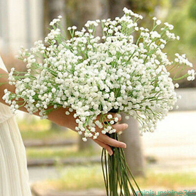 1 Bouquet Artificial Fake Dried Gypsophila Flower Wedding Home Floral Decor Gift