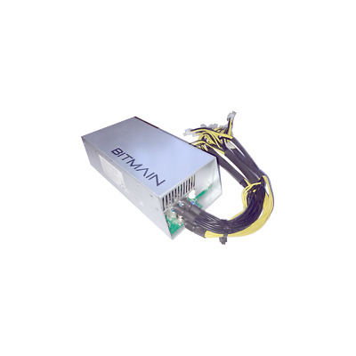 Bitmain Brand APW3++ 1600W DC-12V A3 PSU Power Supply Antminer L3+ D3 S9 T9 A3