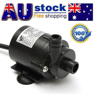 Ultra Quiet Mini DC 12V 280L/H Electric Brushless Motor Submersible Water Pump