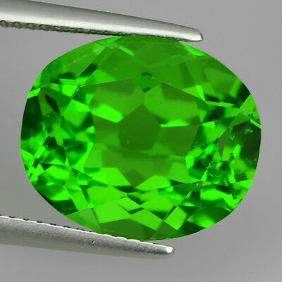 9.47 Ct Amazing Fine Aaa Chrome Green Natural Moldavite Oval Cut Loose Gemstone