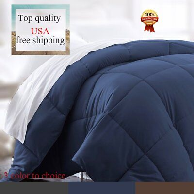 Luxury Supersoft Polyester Alternative Comforter WTwin Queen King Size