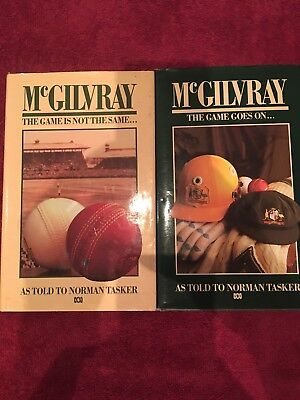 McGilvray: The Game is Not the Same (H/C) & The Games goes on..(H/C)