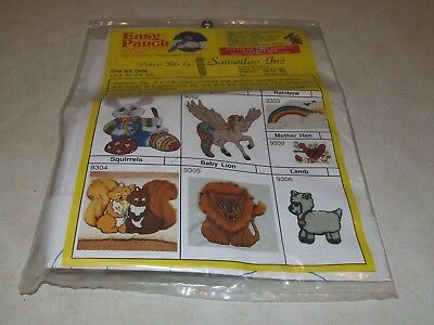 Needle Punch Embroidery Kit - Easy Punch - Squirrels - New