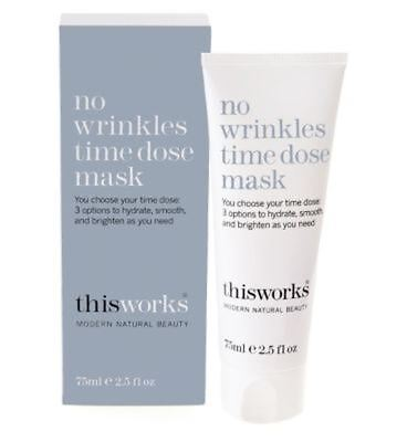 This Works No Wrinkles Time Dose Mask 75ml (Pack of 2)