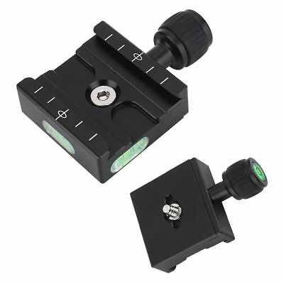 QR-50 Quick Release Clamp Plate For Arca SWISS MARKINS BENRO Tripod Ball Head DH
