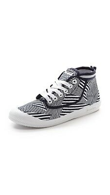 Volley International Men Sneakers Casual Lace Up Shoes Canvas Stripes High Top