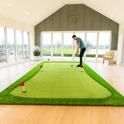 FORB Professional Golf Putting Mat - Practice Putting Skills (Choose Your Size)