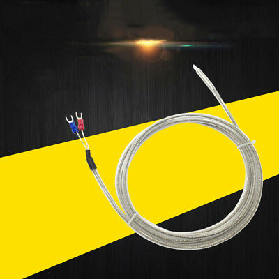 PTFE Thermocouple Wire K Type PT100 Waterproof Corrosion Resista 1-5M 3.2-16ft