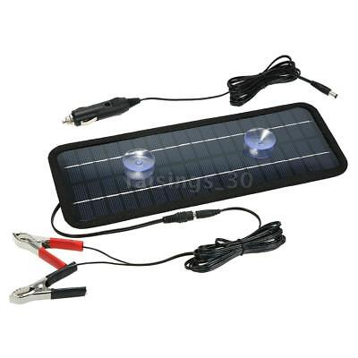 18V 4.5W Portable Solar Panel Power Car Boat Battery Charger Backup Outdoor A3R4