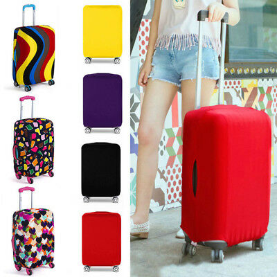 Travel Luggage Cover Protector Elastic Suitcase Dust-Proof Scratch-Resistant AU