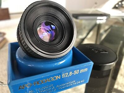 Apo-Rodagon f/2,8-50 mm Lens - *Pristine Condition*