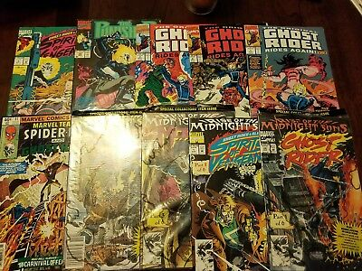 Ghost Rider comics lot of 10 - Spirits of Veangance, Team Up, Midnight Sons